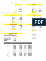 Fin Calculations in Excel