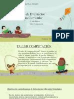 Consejo de Evaluación Taller Computación