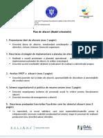 NESU - Structura Plan de Afaceri