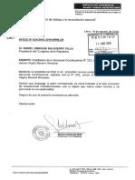 AMPLIACIÓN DE DENUNCIA CONSTITUCIONAL CONTRA BECERRIL