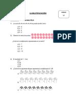 Prueba de Multiplicacion