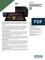 SureColor SC P800 Datasheet