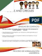 Pidgins and Creoles - PONENCIA