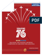 PhiladelphiaBusinessJournal Sept. 29, 2017 Soaring76