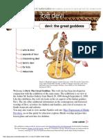 Devi the Great Goddess