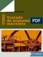 Mandel Tratado de Economia Marxista I