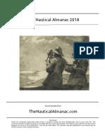 2018 Nautical Almanac