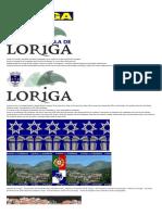 História Concisa Da Vila de Loriga Pelo Historiador António Conde - Concise History of the Town of Loriga by the Historian António Conde