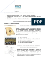 Taller 5 Estructura Del Estado Colombiano
