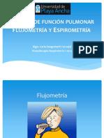 Flujometria y Espirometria