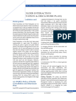 Chapter 6-Stakeholder Interaction (Consultation and Disclosure Plan)