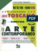 Javier Toscano Versus el Arte Contemporáneo