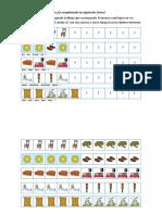 Ejercicios de series fonema /S/