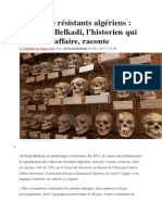 Crânes de Résistants Algériens