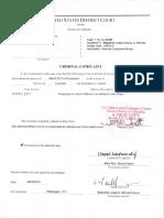 Ghorbani Signed Criminal Complaint Affidavit 0