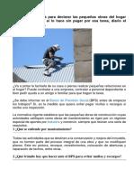 Conozca Los Pasos Para Declarar Las Pequeñas Obras Del Hogar Ante BPS