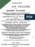 1863  Le Marchands Fortune Teller