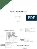 Teoría Económica I