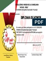 Diploma de Afo