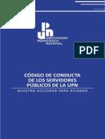 Codigo de Conducta de los Servidores Publicos de la UPN