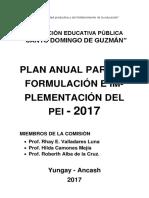 PLAN ESPECIFICO DE ELABORACION DEL PEI.docx