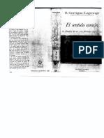 EL SENTIDO COMÚN-La Filosofía Del Ser y Las Fórmulas Dogmáticas-GARRIGOU-LAGRANGE