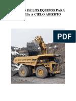 INFORME TAMAÑO DE LOS EQUIPOS PARA MINERIA A CIELO ABIERTO.docx