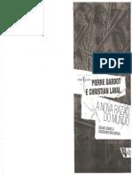 DARDOT Pierre ; LAVAL Christian;  a Nova Razao Do Mundo PDF