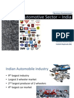 Automotive Industry India