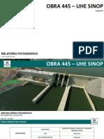 208º Relatório de Acomp. UHE Sinop