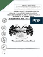 Directiva N- 002 2017 MPH