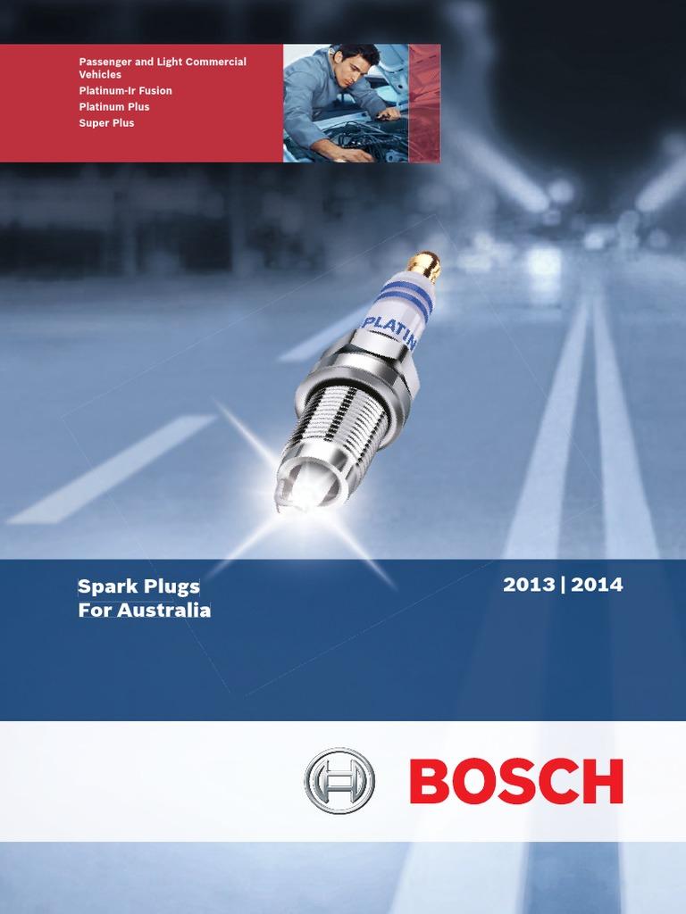 BOSCH Spark Plug Australia Web 2013_2014 v1 pdf | Ignition