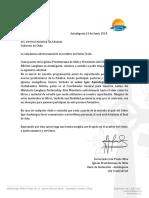 Carta IGOR Aduana