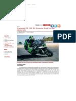Kawasaki ZX-10R SE Chega Ao Brasil No Fim Deste Mês - MotorDream