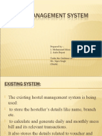 Hostel Management System | Use Case | Graphical User ...