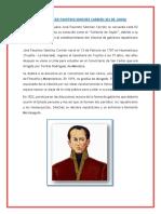 Día Del Prócer Faustino Sánchez Carrión