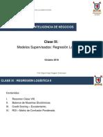 S9. Clase 9 - Modelos Supervisados Regresión Logística III