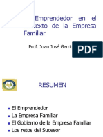 Emprendedor Contexto Familiar