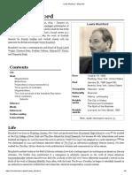Lewis Mumford - Biography and Work