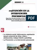 s11 La Intervencion Psicosocial -