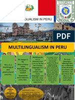 Multilingualism in Peru (1)