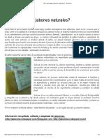 ¿Por Qué Utilizar Jabones Naturales_ – Sabonet