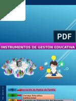 Instrumentos de Gestón Educativa (1)