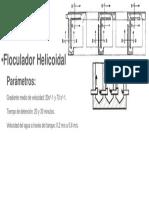 floculador helicoidal