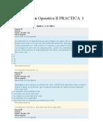 Investigación Operativa II PRACTICA  1 WCCUNIV. TELESUP ING.SISTEMAS VI CICLO