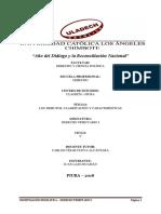 Investigación Formativa - Derecho Tributario