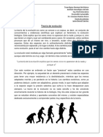 Teoria de la evolucion