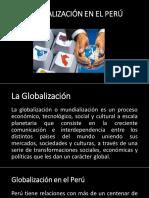 La Globalización en El Perú1