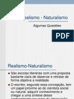 Realismo-Naturalismo
