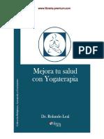 Mejora Tu Salud Con Yogaterapia - Dr. Rolando Leal